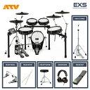【即納可能】電子ドラム ATV EXS-5 ツインフルオプションセット【送料無料】【あす楽対応_関東】