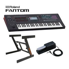 ローランド シンセサイザー Roland FANTOM-6 Synthesizer Keyboard プライムセット【送料無料】