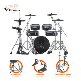 【2020年7月23日発売予定 ご予約受付中】【期間限定ブランド・フロントヘッド プレゼント!】Roland V-Drums Acoustic Design Series VAD306 ツインバリューセット【送料無料】