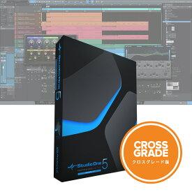 【即納可能】PreSonus Studio One 5 Professional クロスグレード 日本語版(ダウンロードカード)【送料無料】【あす楽対応_関東】