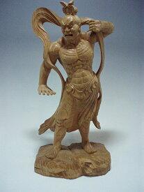 木彫り・・・欅 仁王像30cm