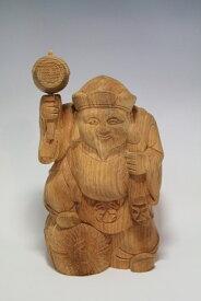 木彫り・・・欅 大黒28cm