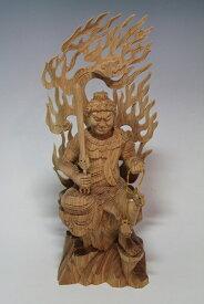 木彫り・・・欅 半跏不動