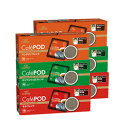 キーコーヒー CafePOD 3種のコーヒーセット (各7g x 20個) x 計6箱 【カフェポッド 60mmタイプ】