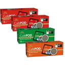 キーコーヒー Cafe POD (カフェポッド60mm) アソートセット(各7gx20個)x4箱