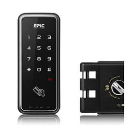 エピック(EPIC) TOUCH HOOK 2(タッチフック2) 開錠方式/ICカード・暗証番号 引き戸用 電子錠 後付け 玄関 電気錠 オートロック デジタルロック スマートロック 補助錠
