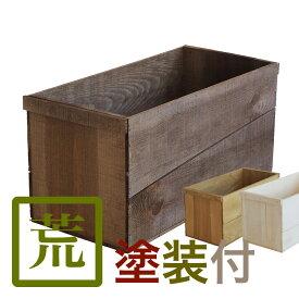 塗装付りんご箱 (新箱) AB20KT りんご箱 荒仕上げ 塗装付 単品 ブラウン オリーヴ ホワイト 全3色 箱 木製 収納 ウッドボックス キューブボックス ボックスシェルフ スタッキングボックス スタッキングシェルフ 見せる収納 収納 ボックス