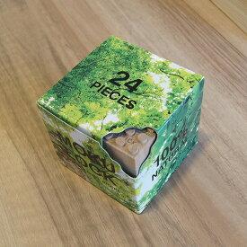 もくロック 24ピースブロックセット / MOKULOCK / 自然 子供 キッズ おもちゃ 玩具 お祝い プレゼント ギフト モクロック もくろっく 木製ブロック 木のブロック レゴ /