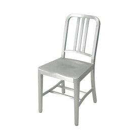 エメコ ネイビーチェア /E1006/ emeco navy chair / カラー:シルバー(光沢なし) 海軍 ベティー・グレイブル グレッグ・バックバインダー アルミニウム フィリップ・スタルク コカコーラ /