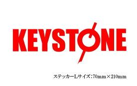 キーストン KEYSTONE ロゴステッカー Lサイズ