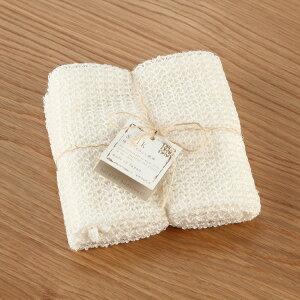 【KEYUCA公式店】ケユカ [日本製] とうもろこし由来繊維と絹 BDT ボディタオル 約27×100cm バス用品 シルク 日本製