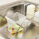 KEYUCA(ケユカ) arrots ダストバッグホルダー[ゴミ袋スタンド ゴミ袋ホルダー ミニサイズ 生ごみ用 折りたたみ 食器洗…