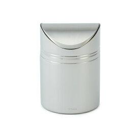 KEYUCA(ケユカ) Twone ダストボックス ゴミ箱[ゴミ箱 ダストボックス 小さい ミニサイズ トイレ 洗面所 鏡面加工 おしゃれ オシャレ モダン シンプル デザイン ステンレス製 引越し祝い 新生活 ギフト プレゼント 通販 楽天]