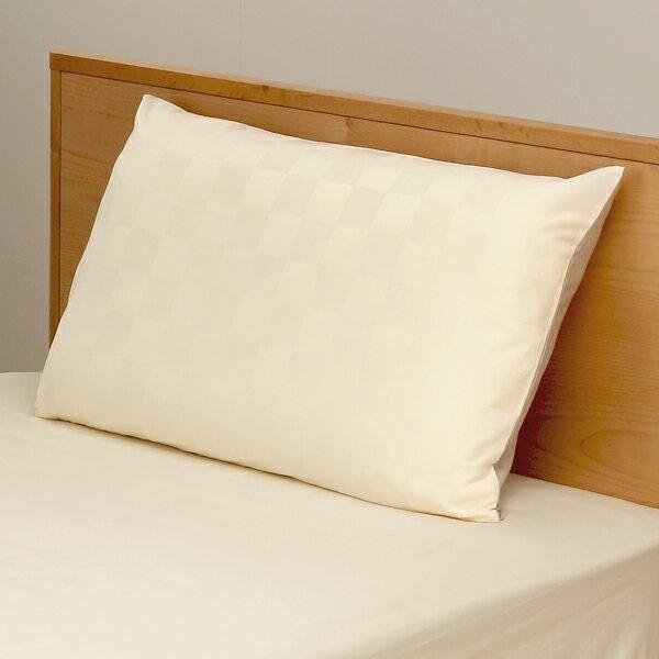 【特別価格】KEYUCA(ケユカ) イチマツアイボリー 枕カバー 43×63〜75cm 【RCP】