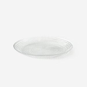 【KEYUCA公式店】ケユカ passa デザートプレート[丸皿 小皿 さら デザートプレート デザート皿 お皿 透明皿 高級感 おしゃれ オシャレ モダン シンプル デザイン 硝子 ソーダガラス トルコ製 結