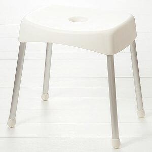 【KEYUCA公式店】ケユカ クラープ バススツール H34cm II|おしゃれ デザイン シンプル 白 ホワイト バスチェア モダン オシャレ お風呂グッズ 風呂イス バスグッズ バスチェアー 風呂いす 風呂椅
