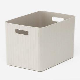 【KEYUCA公式店】ケユカ Pearno ソフトBOX ワイド深 | 収納ボックス おしゃれ プラスチック やわらか 引き出し 収納ケース ストライプ柄 ナチュラル オシャレ シンプル キッチン キッチン収納 小物 洗面所 子供部屋 収納 タオル収納 引出し