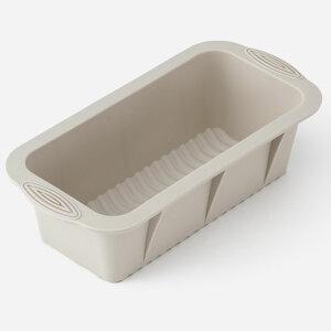 KEYUCA ケユカ Karim パウンドケーキ型 グレー[ケーキ型 シリコン パウンドケーキ型 長方形 四角 焼き型 柔らかい 調理用 調理器具 製菓品道具 食器洗浄機対応 食洗機対応 オーブン対応 オシャ