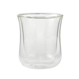 【KEYUCA公式店】ケユカ Air ダブルウォールグラス 230ml [耐熱 ガラス 電子レンジ コップ 大容量 かわいい 引っ越し 新生活 通販 楽天]