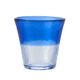 【KEYUCA公式店】ケユカ にほんの色 グラス S 瑠璃 [日本製 国産 コップ ハンドメイド 手作り 津軽びいどろ グラス シンプル かわいい おしゃれ ガラス ビードロ デザイン ブルー 通販 楽天]