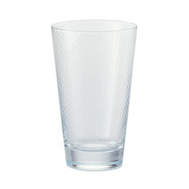 【KEYUCA(ケユカ)公式店】PETEK ロングドリンク 390ml [ソーダガラス コップ グラス タンブラー 模様 安定感 食洗器対応 シンプル クリアカラー おしゃれ ギフト 通販 楽天]