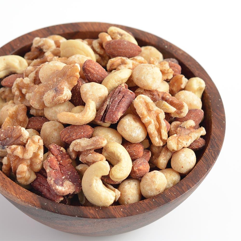 ミックスナッツ 5種 無塩 無添加 無油 お試し 100g 素焼き ナッツ 送料無料 ポイント消化