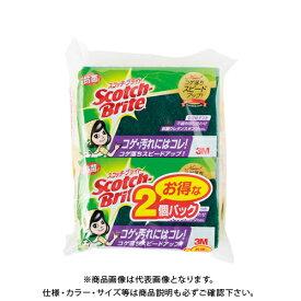 スリ−エムジャパン スコッチブライト抗菌ウレタンスポンジ2個 S-21KS 2PM