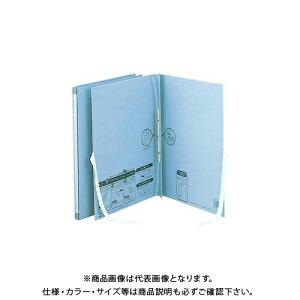 セキセイ のびーるファイルエスヤード外ひも付ブルー AE-50FH-10 ブルー