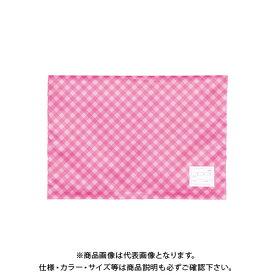 ナカバヤシ 防災ずきん用カバー/チェック/ピンク BZK-102-P