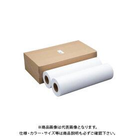 アジア原紙 普通紙ロール(大型複写機用)A1テープ止 フツウシロールA1テープドメ