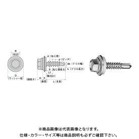 ヤマヒロ ヘックス AZワッシャー付(6カク) 5X60 三価ユニクロ 100本(小箱) HJB60HAZW