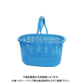 【直送品】安全興業 収穫カゴ (ブルー) 15L 400×300×215mm (16入)