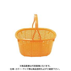 【直送品】安全興業 収穫かご (オレンジ) 15L 400×300×215mm (16入)
