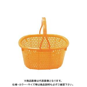【送料別途】【直送品】安全興業 収穫かご (オレンジ) 15L 400×300×215mm (16入)