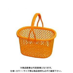 【送料別途】【直送品】安全興業 収穫かご2 (オレンジ) 15L 400×300×215mm (30入)