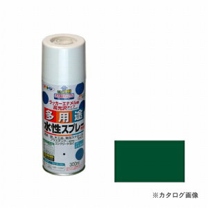 アサヒペン AP 水性多用途スプレー 300ml 緑