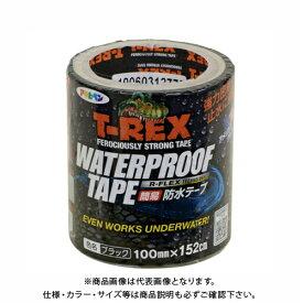 アサヒペン T-REXウォータープルーフテープ 100MMX152C TW-103 ブラック