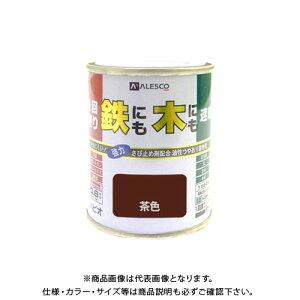 カンペハピオ 1回塗りハウスペイント 茶色 0.1L 00027640041001