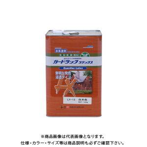 和信ペイント ガードラックラテックス 白木色 14kg #950233