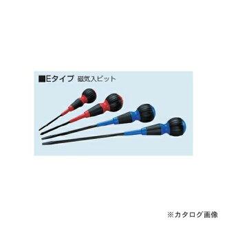 未来工业MIRAI(10条装)电工司机十字螺丝刀E型(进入磁力比特)DRP-100E