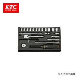 ネプロス KTC ソケットレンチセット NTB222XA