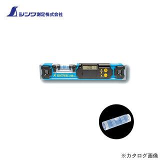 Shinwa Rules Co., Ltd. blue level digital 350mm 76343