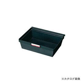 【個別送料1000円】【直送品】サカエ SAKAE 導電性ボックス Zタイプ ブラック Y-105D