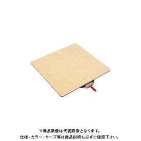 【直送品】サカエ クルクル回転盤・スチール製・合板天板 KS-50T