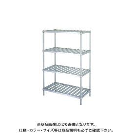【直送品】シンコー ステンレスラック 738×588×1800 RS4-7560