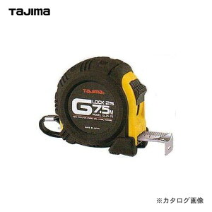 タジマツール Tajima Gロック25 7.5m(メートル目盛) GL25-75BL