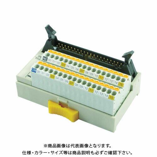 TOGI スプリングロック式コネクタ端子台 PCX-1H40-TB34-O1