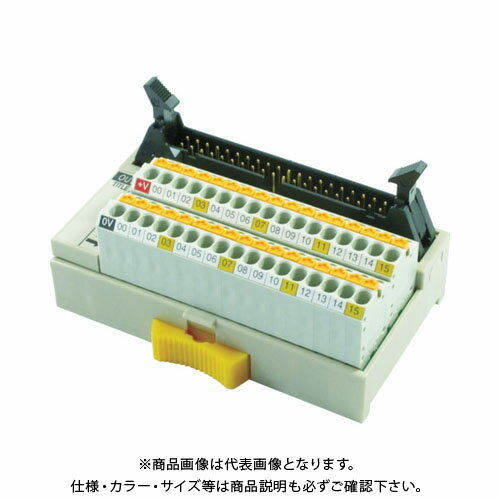 TOGI スプリングロック式コネクタ端子台 PCX-1H40-TB34-O3