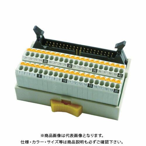 TOGI スプリングロック式コネクタ端子台 PCX-1H40-TB40-K-CPU
