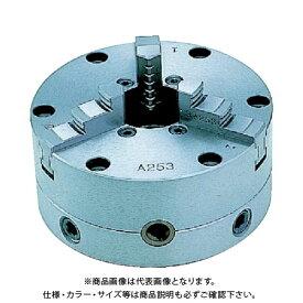 【直送品】ビクター 芯振れ調整型3爪スクロールチャック SC4A 4インチ 一体爪 SC4A